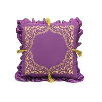Cushion divan 'moonlight Sonata' purple with gold embroidery