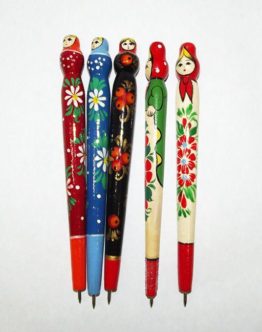 Vyatka souvenir / Handle painted souvenir