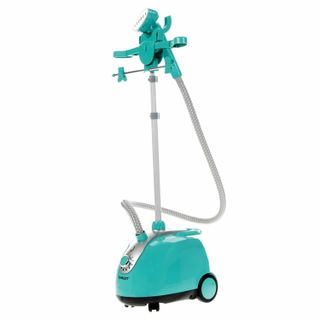 Steamer SCARLETT SC-GS130S06, 1800 watts, steam 160 g/min, tank 1.6 l, 10 modes,1 nozzle, blue