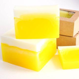 Pineapple-Lemon - handmade glycerin soap
