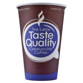 "FORMATION / Disposable cups 300 ml, SET 50 pcs., Single-layer paper, ""Taste Quality"", cold / hot, for vending"