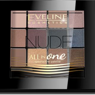 Eye shadow No. 1-nude series all in one, Eveline, 12 g