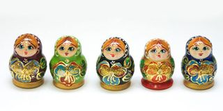 Matryoshka 5 places Baby - Souvenir