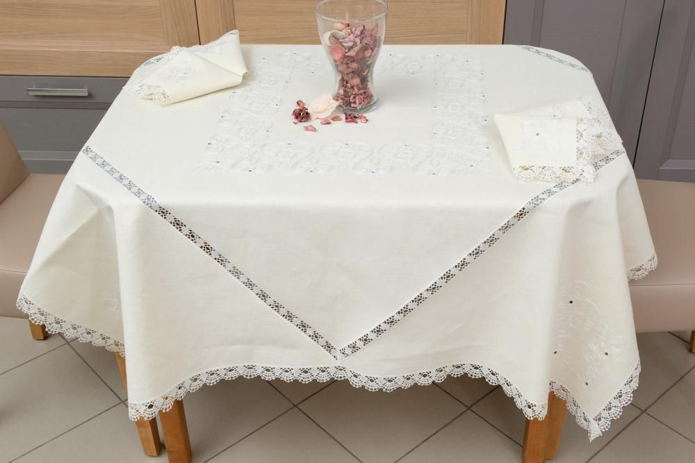 """Set of table linen """"French Breakfast"""""""