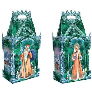 """New Year's gift """"Emerald Castle"""", a set of sweets 1500g."""