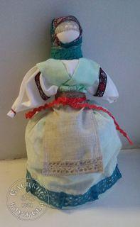 "Textile doll ""Grandma-girl"""