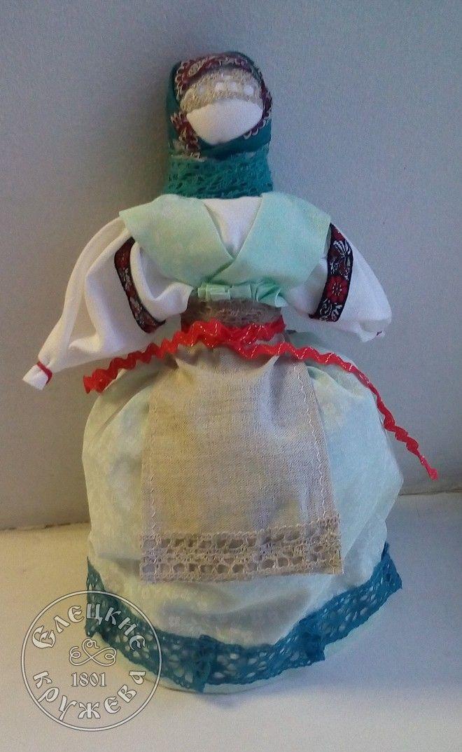 "Yelets lace / Textile doll ""Grandma-girl"""