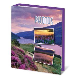 BRAUBERG photo album for 100 photos 10x15 cm, hard cover,