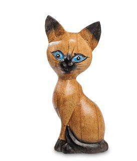 "Wooden figurine ""Cat Love"" 20cm"