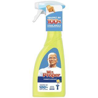 """Universal cleaner MR. PROPER (Mister Proper) """"Lemon"""" spray bottle 500 ml"""