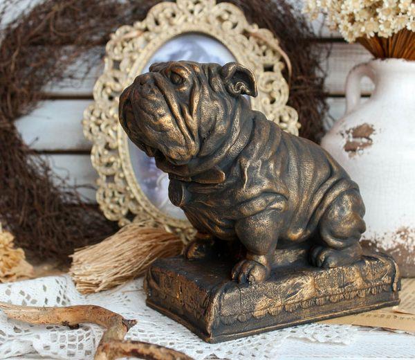 Piggy Bank Handmade English Bulldog - Gentleman