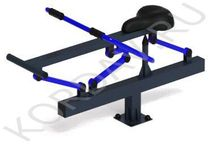 Rowing sports street trainer