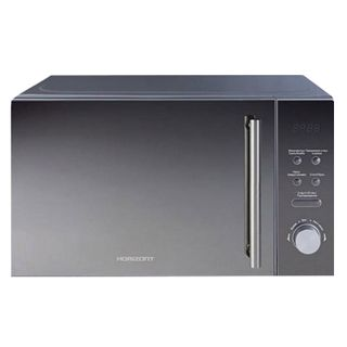 HORIZONT 20MW700-1479BKB microwave, 20 litres, 700 watt power, electronic control, grill, black