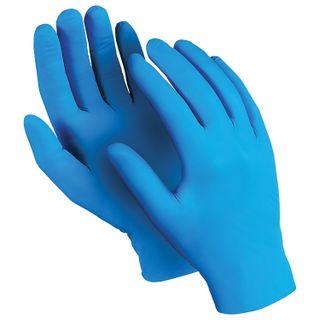 "MANIPULA / Nitrile gloves ""Expert"", powder-free, SET of 50 pairs, size 9 (L), blue"
