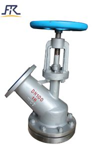 Manual Operation Tank Bottom Angle Valve ,Bottom Outlet Valves,vessel bottom valve,flush bottom valve