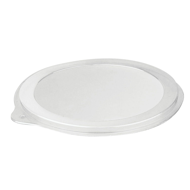 STIROLPLAST / Lid for container Sp-132, d -132 mm, PET, transparent, containers 604309; -ten; -eleven