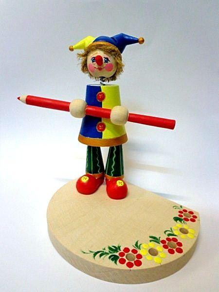 "Tver souvenirs / Pencil holder ""Harlequin"""