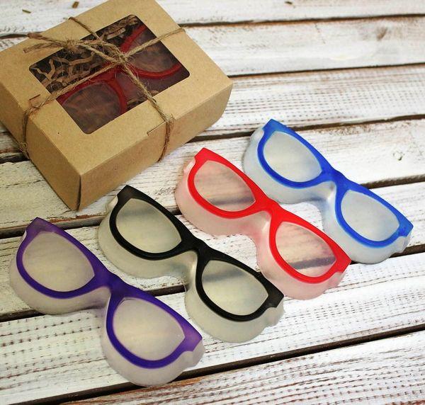Handmade soap Glasses mix colors