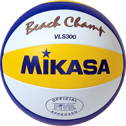 """Mikasa / Beach volleyball ball MIKASA VLS300 """", size 5, FIVB Approved, microfiber synthetic leather"""