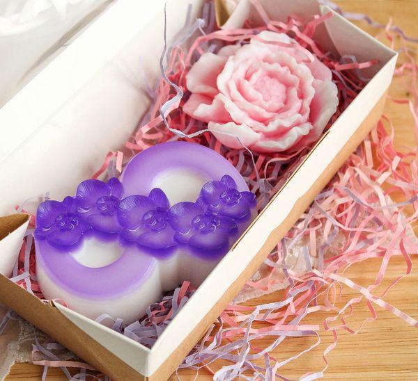 Handmade soap set Floral holiday