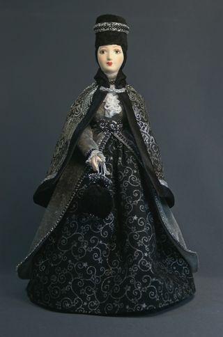 Doll gift porcelain. Stranger.