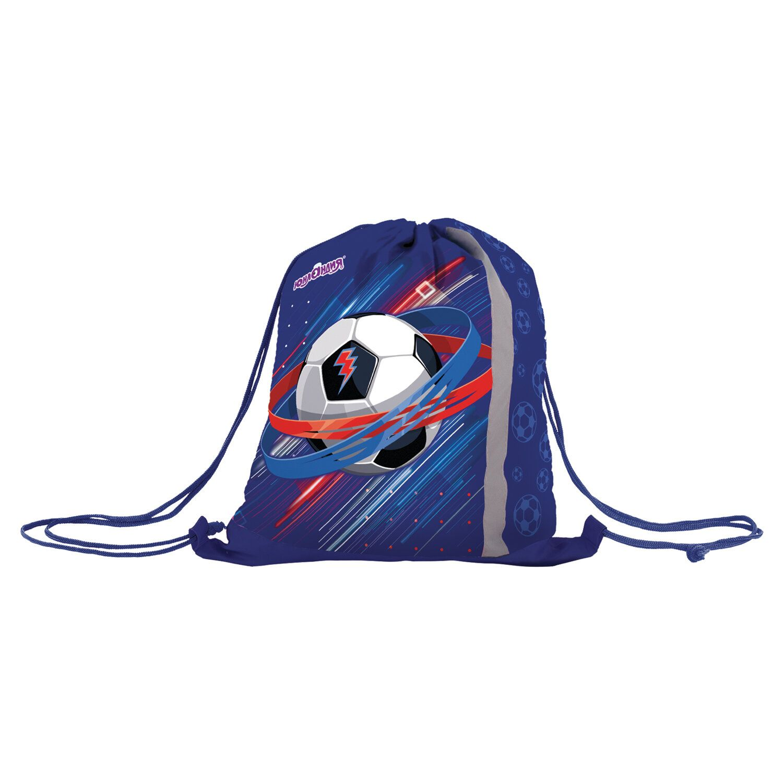 "Bag for shoes INLANDIA, reflective strip, 47х37 cm ""Championship"""