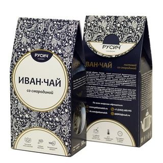 "Ivan-tea ""RUSICH"" sheet with currants, 50 g"