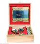 Zirconium coffee set for 6 persons with a tray in a wooden gift box - view 3