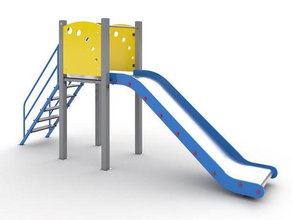 The slide H801 powder paint