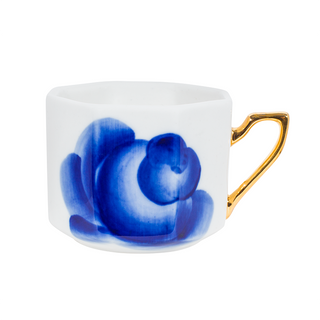 Cup European rose Z, Gzhel Porcelain factory
