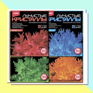 Radiant crystals - an educational and cognitive game-set for children's creativity