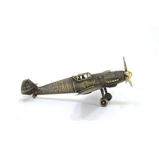 """Model fighter """"Messerschmitt BF-109 F2"""" 1:72"""