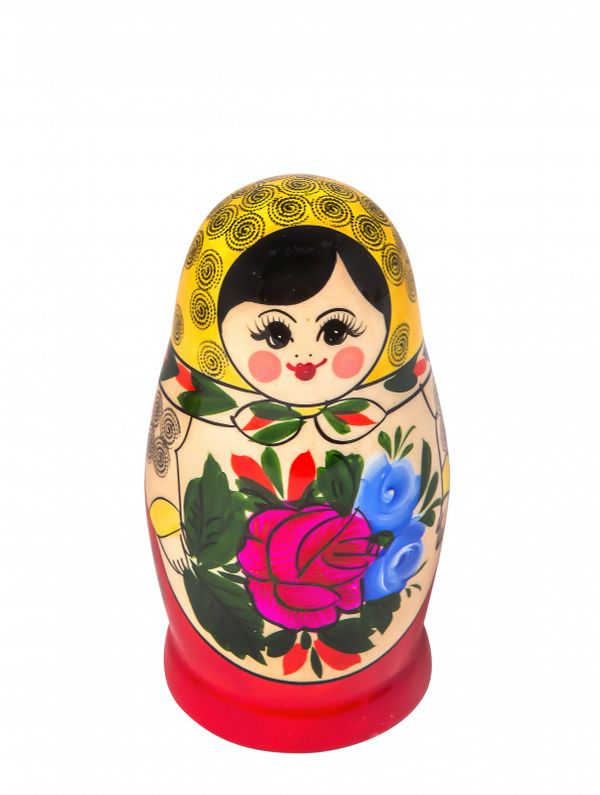 Traditional matryoshka 6 dolls