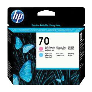 HP / Plotter Printhead (C9405A) DesignJet Z2100 / Z3100 # 70 Light Magenta & Light Cyan Original