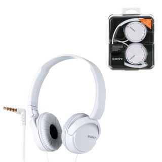 SONY / Headphones MDR-ZX110, wired, 1.2 m, stereo, oversized with headband, white
