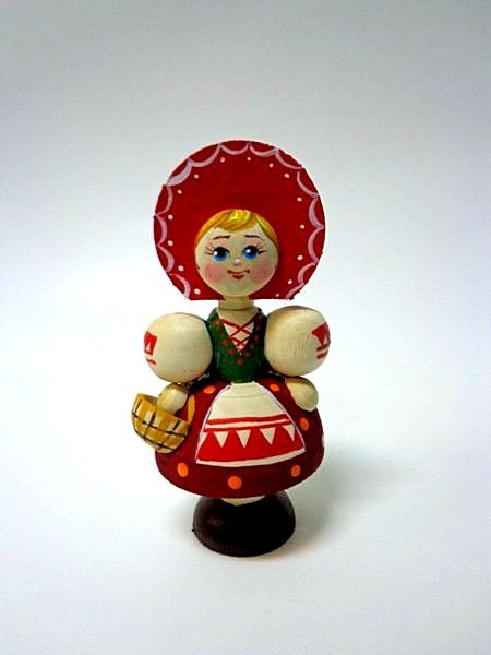 "Tver souvenirs / Fairy-tale characters ""Little Red Riding Hood"""