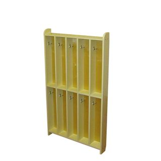 Khokhloma painting / Children's towel cabinet, 5 sections