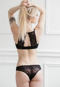 Lace black slips