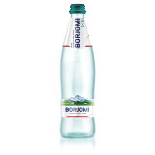BORJOMI / Sparkling mineral water BORJOMI 0.33 l, glass bottle