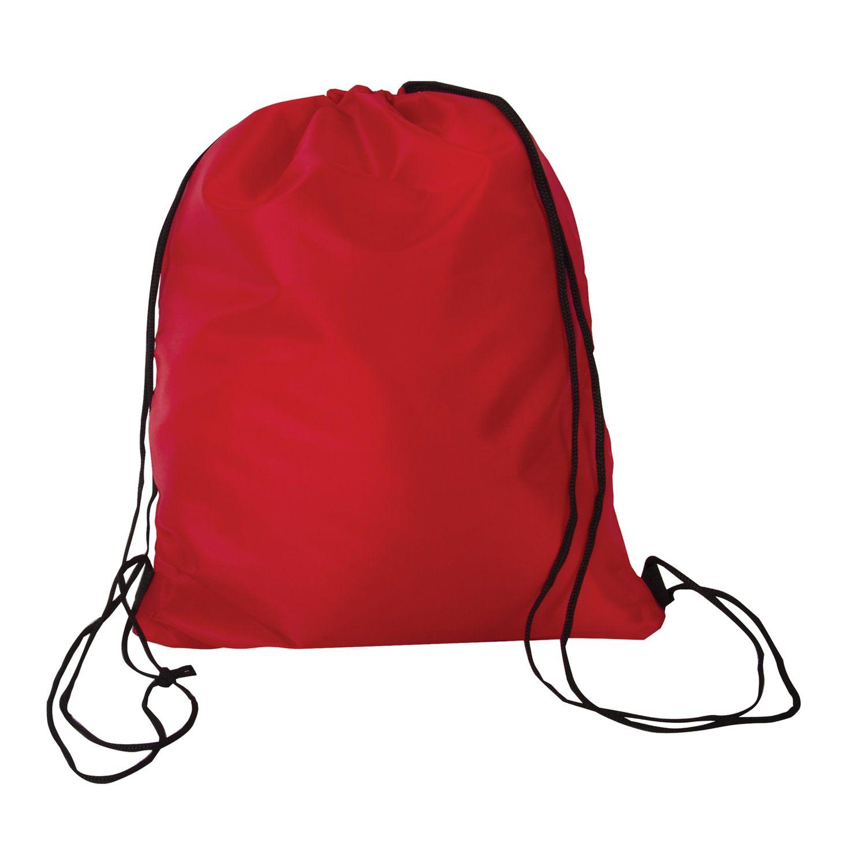 Shoe bag BRAUBERG, durable, lace, red, 42x33 cm