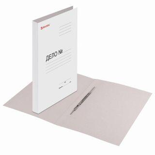 File folder cardboard coated BRAUBERG, guaranteed density 320 g/m2, white, 200 sheets