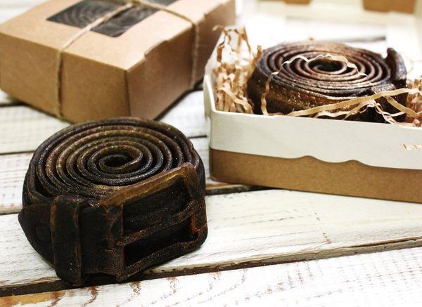 Handmade soap for men Belt