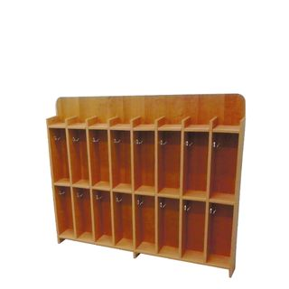 Khokhloma painting / Children's towel cabinet, 8 sections