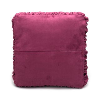 """Cushion divan """"Tenderness"""" purple with gold embroidery"""