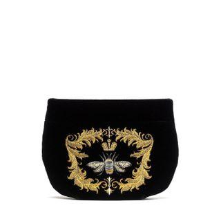 "Velvet cosmetic bag ""Luxury"""