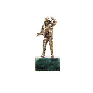 "Figurine ""Fisherman"" on the stone"