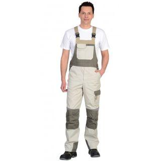 "Half-overalls ""CASPIAN"" men's summer white"
