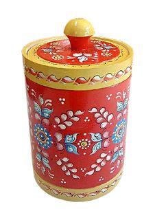 "Wooden barrel ""Shenkur red painting"" 20 cm"