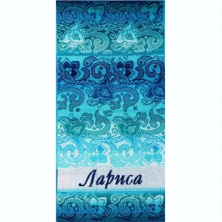 "Terry bath towel named ""Larisa"" size 100 * 50 jacquard"