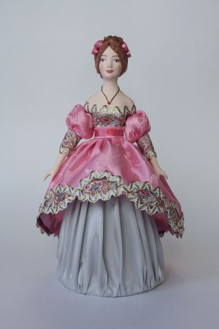 Doll gift. Lady. The beginning of the 19th century.